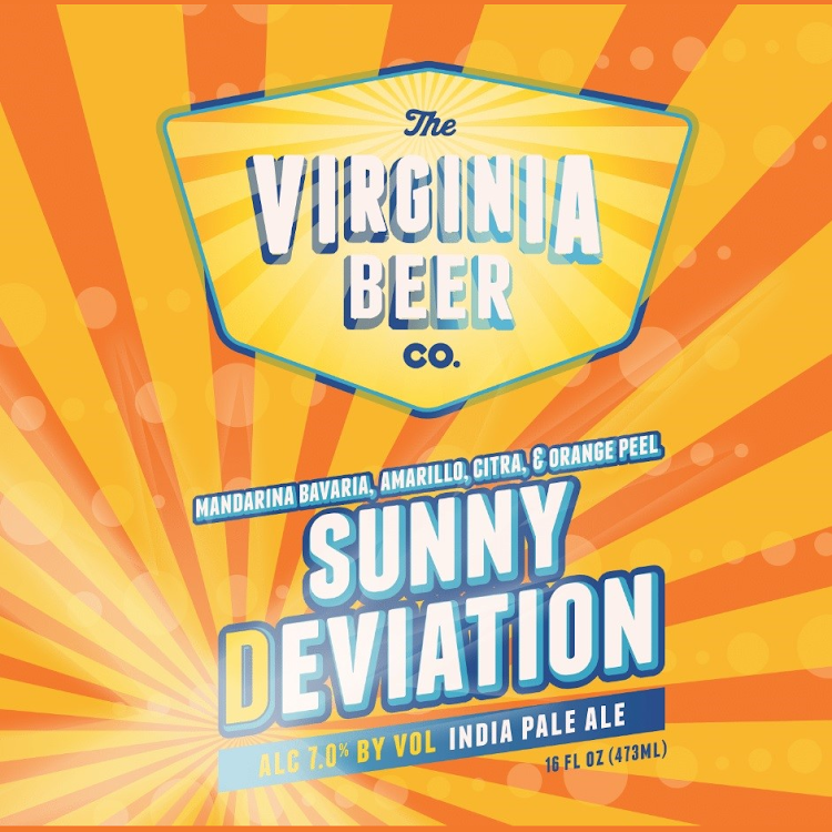 Logo of Virginia Beer Co. Sunny Deviation Citrus IPA