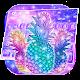 Neon Pineapple Keyboard Theme APK