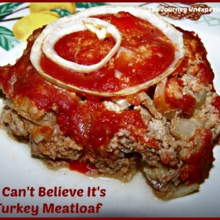 I Cannot Believe It Is Turkey Meatloaf.
