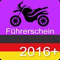 Führerschein Motorrad Klasse A icon