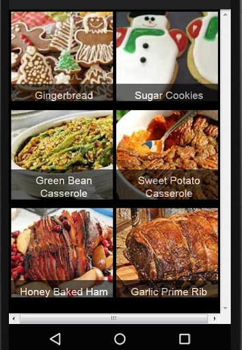 Holiday Party Recipes screenshot 1