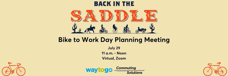 Bike to Work Day Planning Meeting