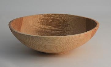 """Photo: Tim Aley 8"""" x 2 1/2"""" bowl [willow oak]"""