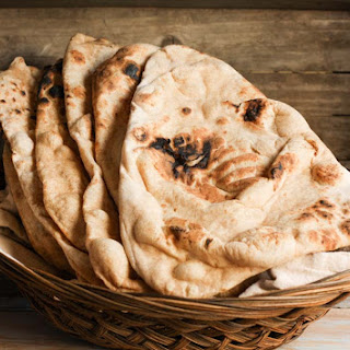 Whole Wheat Naan #BreadBakers