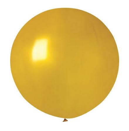 Ballong rund 70 cm, guld