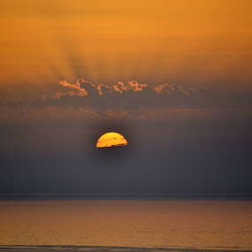 Few seconds paradise I by Daniela Elena - Landscapes Sunsets & Sunrises ( lovely view, sunset, seaside, paradise )