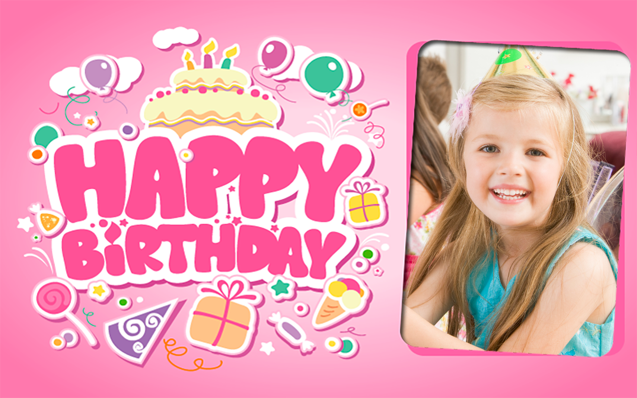 Birthday Party Photo Frames Apl Android Di Google Play