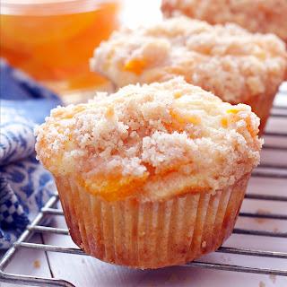 Peach Cobbler Muffins.