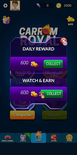 Carrom Royal - Multiplayer Carrom Board Pool Game 10.1.7 screenshots 4