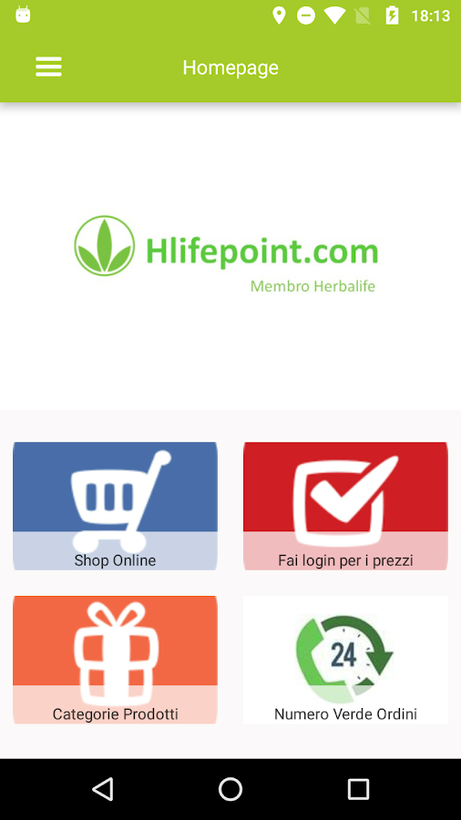 Hlifepoint- screenshot