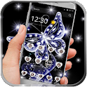 Diamonds Butterfly Theme icon