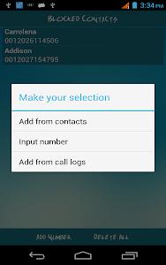 Easy Call Blocker screenshot 15