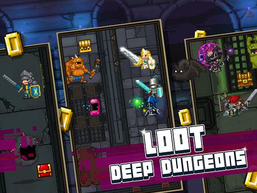 Bit Heroes: An 8-Bit Pixel RPG Quest apkpoly screenshots 9