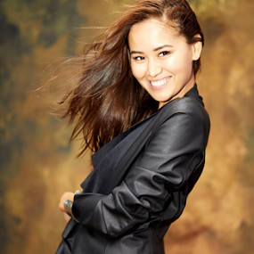 Smile by Frank Photography - People Portraits of Women ( beautiful, face, hair, sexy, leatherjacket, asian girl, body, smile )