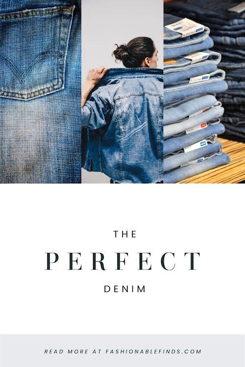 The Perfect Denim - Pinterest Pin Template