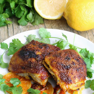 Moroccan Spiced Chicken Thighs Recipes