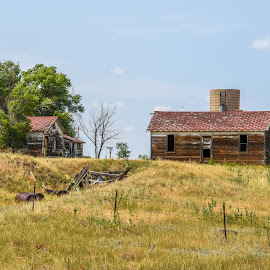 Little House on the Prairie by Joe Machuta - Buildings & Architecture Decaying & Abandoned