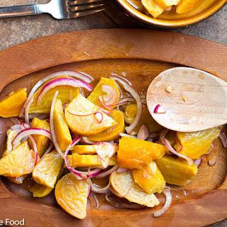 Roasted Beet & White Wine Vinegar Salad