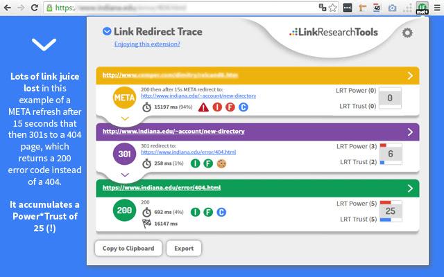 Link Redirect Trace - Chrome web-trgovina