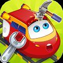 Mechanic : repair of trains icon