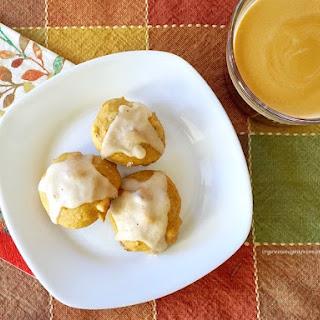 Pumpkin Cookies with Maple Glaze.
