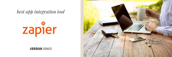 best app integration tool, Zapier