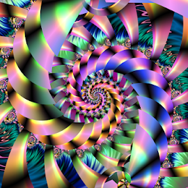 Spiral 80 by Cassy 67 - Illustration Abstract & Patterns