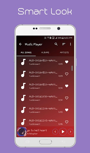 Music Player 1.3.9 screenshots 2