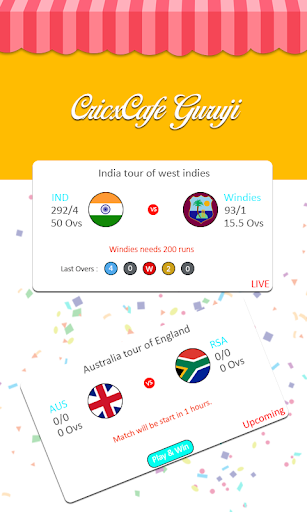 CricxCafe - Predict & Win Mobile Recharge  screenshots 2