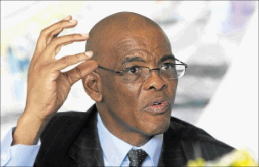 ROCKY GROUND: Premier Ace Magashule