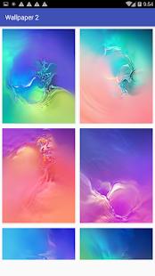 Wallpaper Creative Galaxy S10 Screenshot