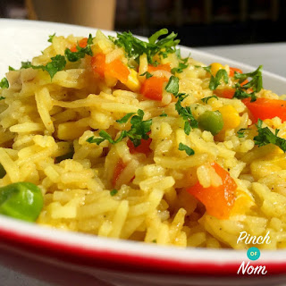 Syn Free Savoury Rice | Slimming World.