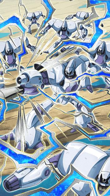 非情な霰弾・ロボット兵