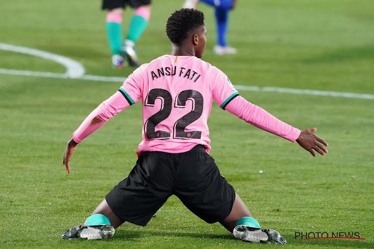 Europese topclubs mogen goudhaantje vergeten: 'Barça verlengt in alle stilte contract van Fati én knoopt meteen nieuwe gesprekken aan'