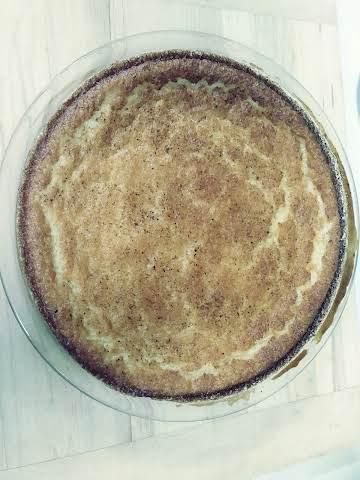 Magic Egg Custard Pie
