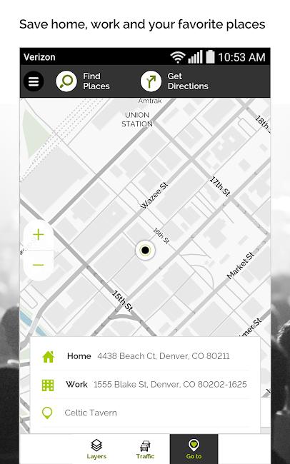 #8. MapQuest GPS Navigation & Maps (Android)