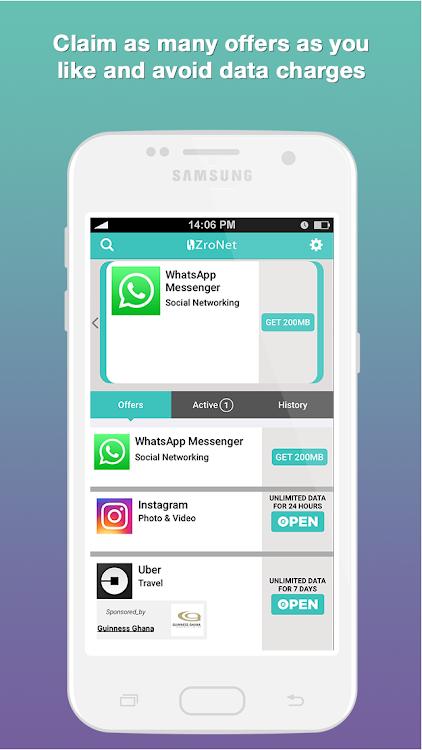 ZroNet - Free Internet for Apps – (Android Εφαρμογές) — AppAgg