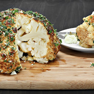 Spicy Whole Roasted Cauliflower