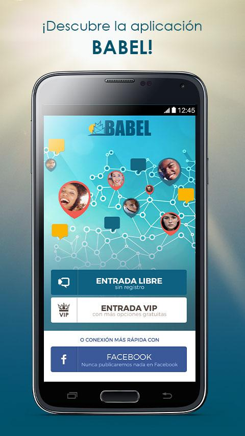 BABEL: Chat & citas internacionales: captura de pantalla