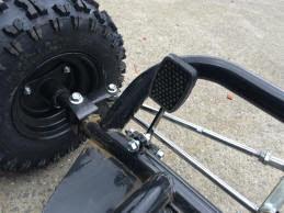 6.5 hp horse power offroad dirt go kart cart bike automatic kids teenagers 4 stroke motoworks sale discount cheap brake pedal