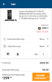 Newegg Mobile Screenshot 7