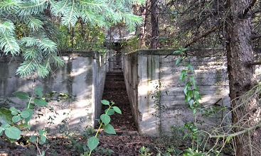 Photo: Surprising facility in the deep of a private property along the road Eger-Ostoros, Hungary (2014)