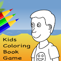 Kids Coloring Book Game FREE icon