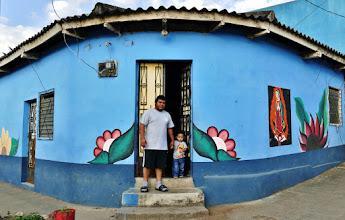 Photo: Apaneca: Papa mit Söhnchen