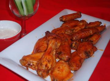 Crispy Sticky Oven Hot Wings Recipe