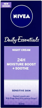 Nivea Daily Essentials Sensitive Night Cream - 50ml