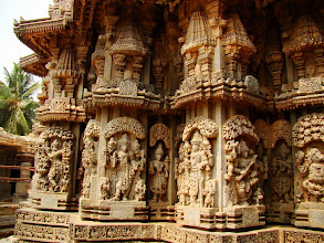 Photo: #225-Somnathpur, l'art des Hoysalas