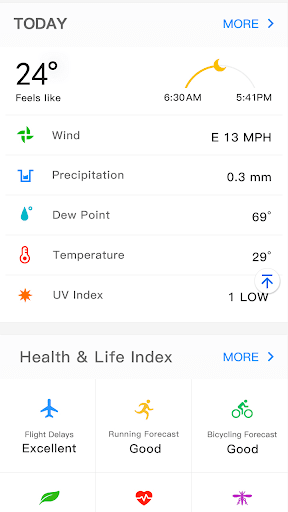 Weather Forecast - live weather radar 1.0.5 screenshots 6