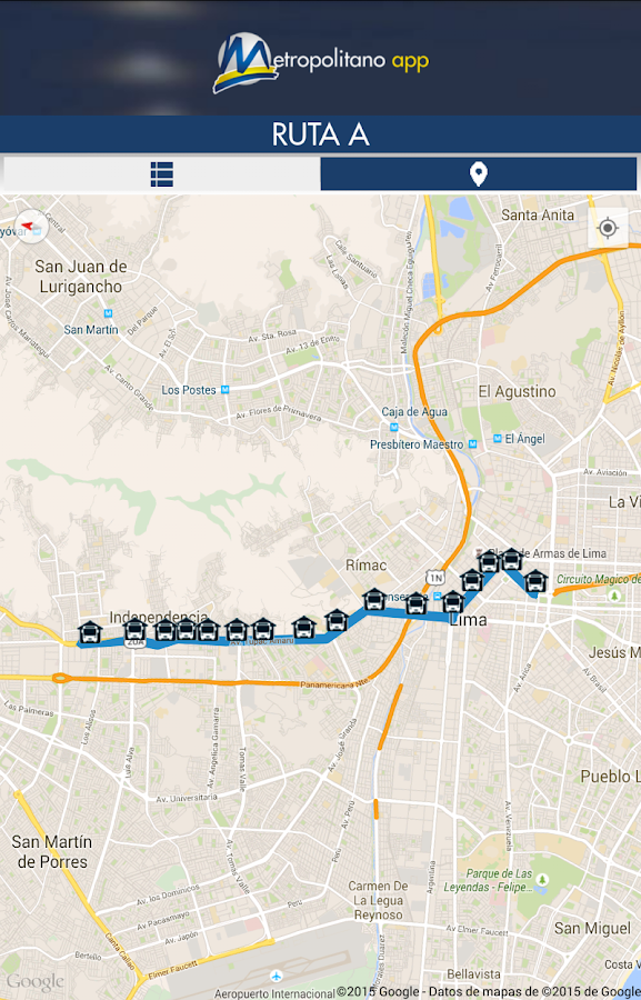 Metropolitano- screenshot