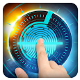 unlock with fingerprint prank icon